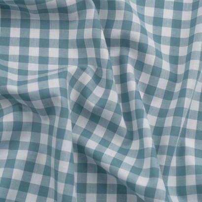 Tela de algodón Vichy (8mm) arrugada
