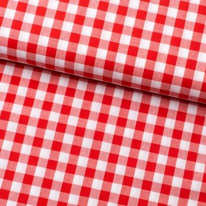 Tela de algodón Vichy (8mm) lomo