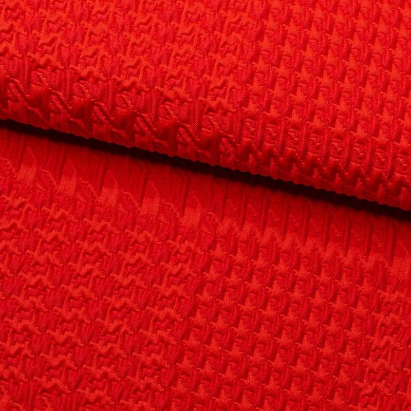 Tela de algodón jacquard lomo