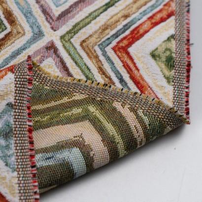 Tela de tapiceria Gobelino con rombos reves