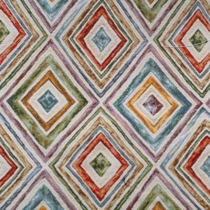 Tela de tapiceria Gobelino con rombos lisa