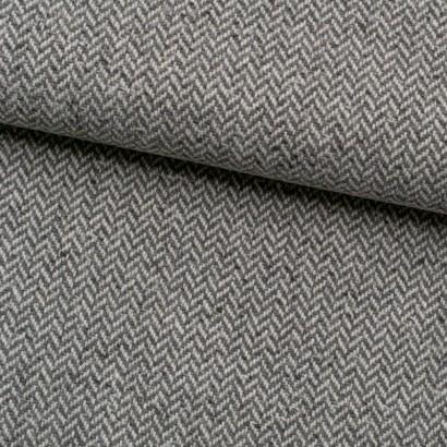 Tela de paño tweed espiga lomo