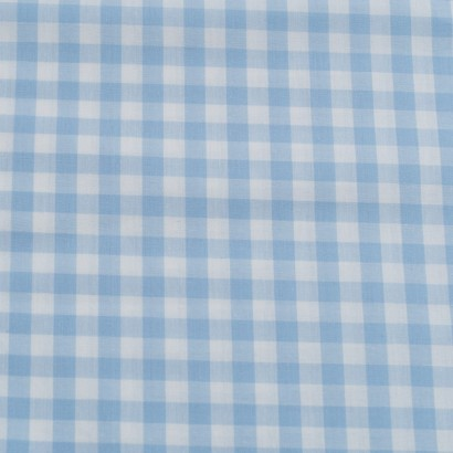 Tela de algodón Vichy (8mm) lisa