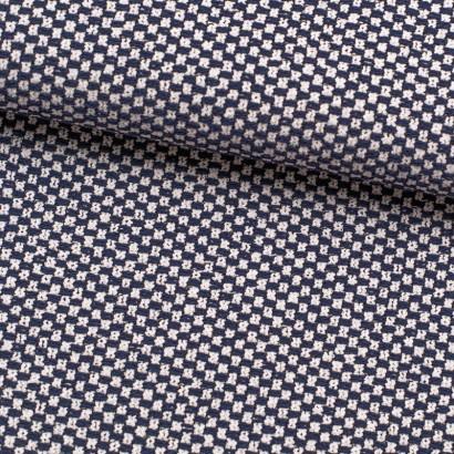 Tela de punto jersey cuadros lomo