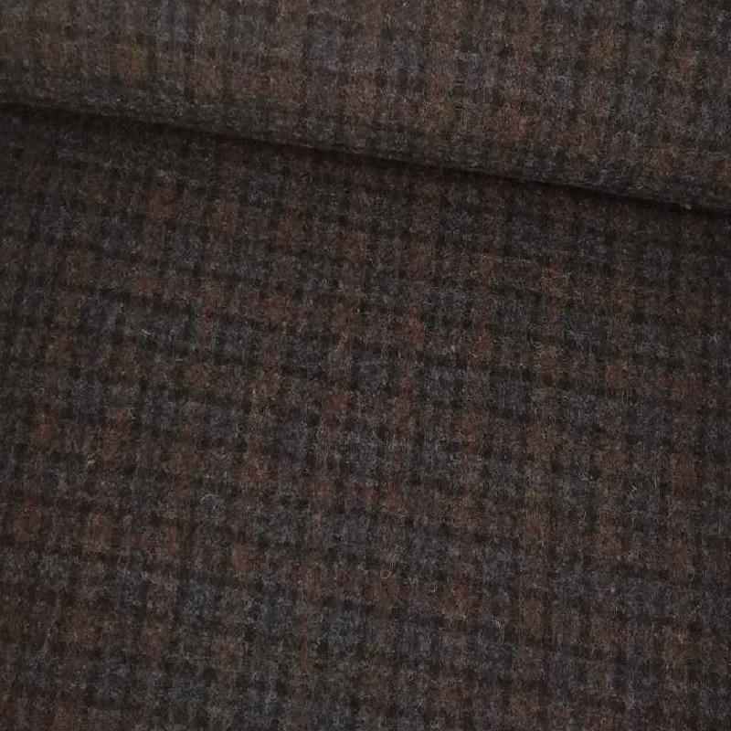 Tela de paño de cuadritos difuminados tubo