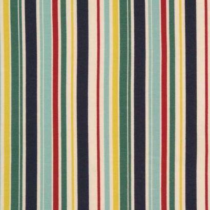 Tela de punto rayas de colores 2