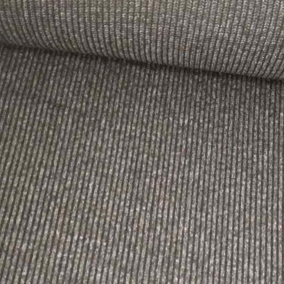 Tela de punto canutillo gris tubo
