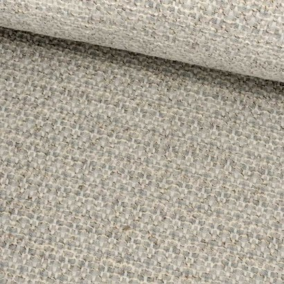 Tela de algodón azul crudo tubo