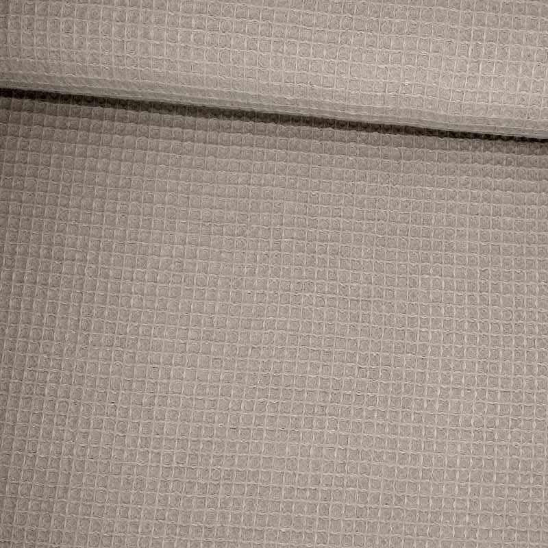 Tela de gofre gris tubo