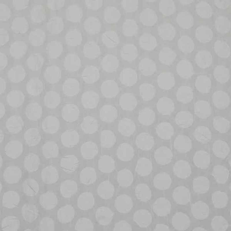 Tela de algodón blanca mota 1