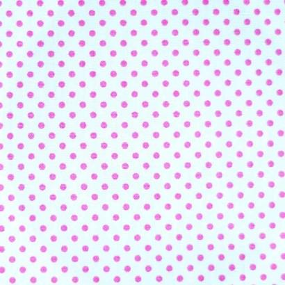 Tela de topos blanca rosa 2