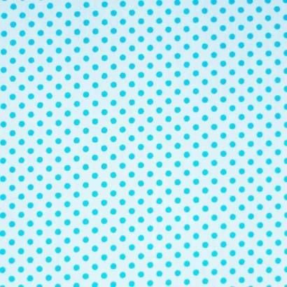 Tela de topos blanca azul 2