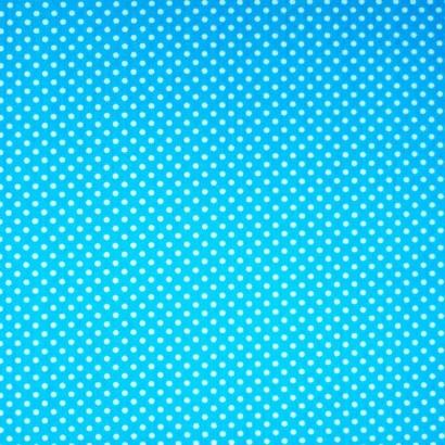 Tela de topos azul blanca 1