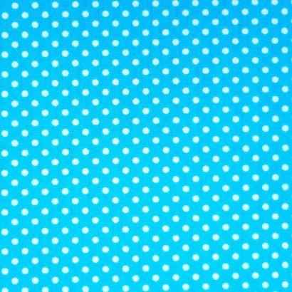 Tela de topos azul blanca 2