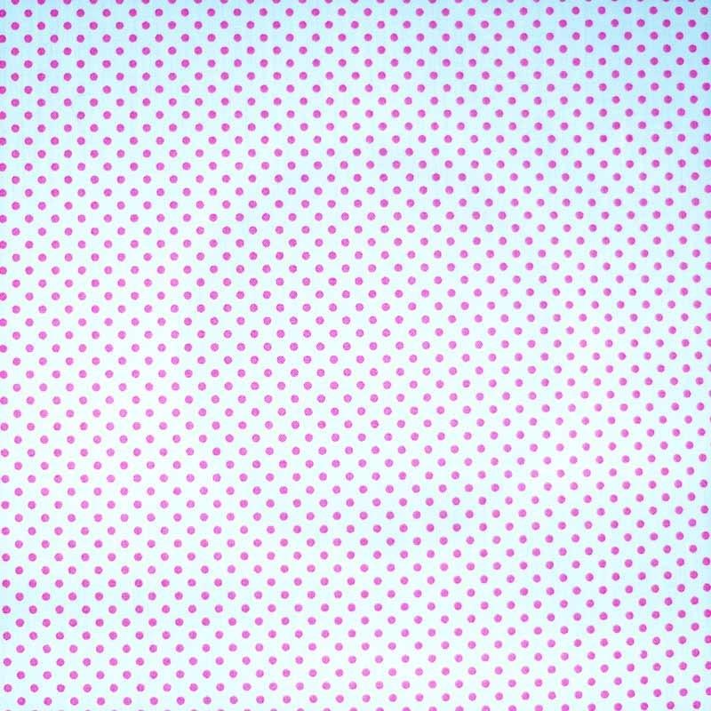 Tela de topos blanca rosa 1