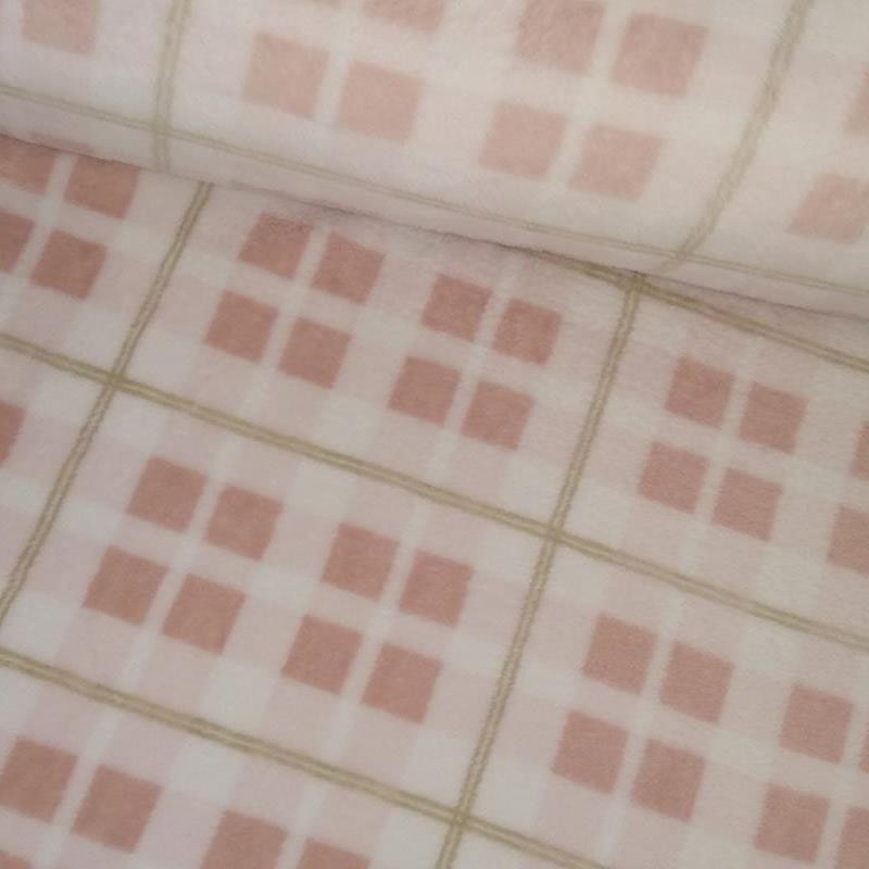Tela de coralina cuadro rosa tubo