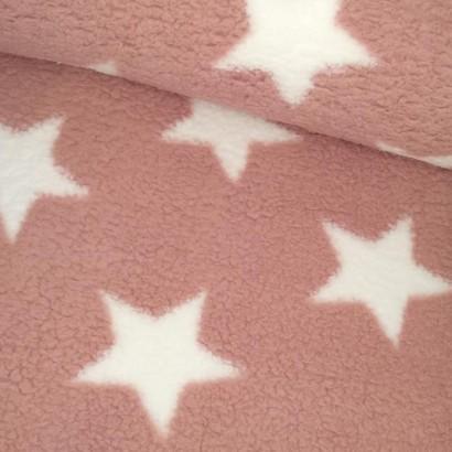 Tela de coralina estrella rosa tubo