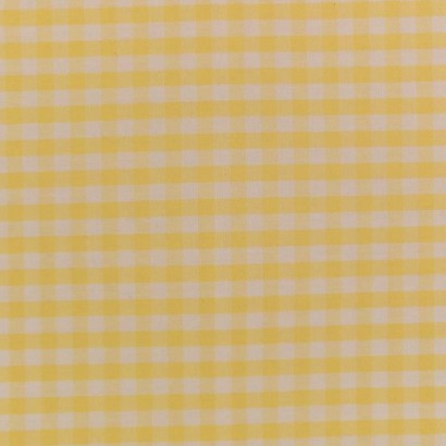 Tela de vichy (5mm) amarillo 1