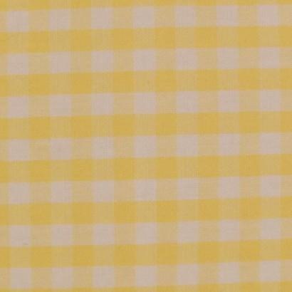 Tela de vichy (5mm) amarillo 2