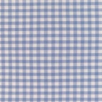 Tela de vichy (5mm) azul 1