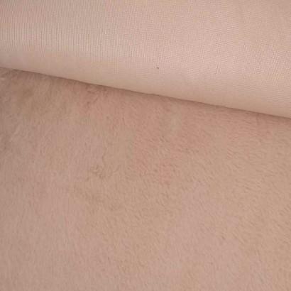 Tela de pelo rosa tubo