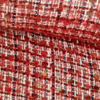 Tela de chanel rojo tubo