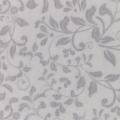 Tela de franela flores pequeñas lisa 1