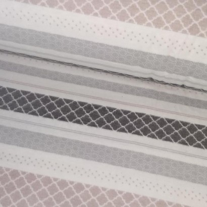 Tela de franela rayas lomo