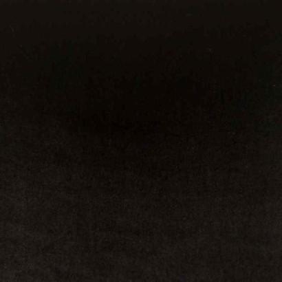 Tela de terciopelo negro liso 1