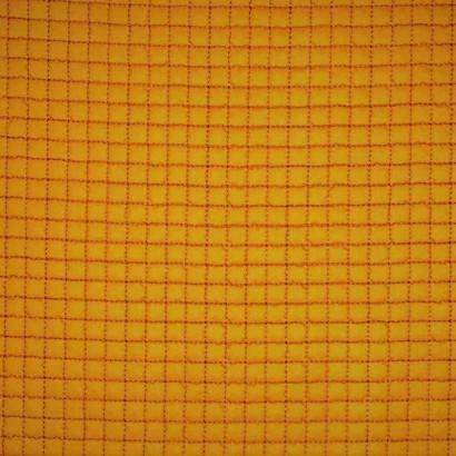 Tela de gofre acolchada amarillo liso