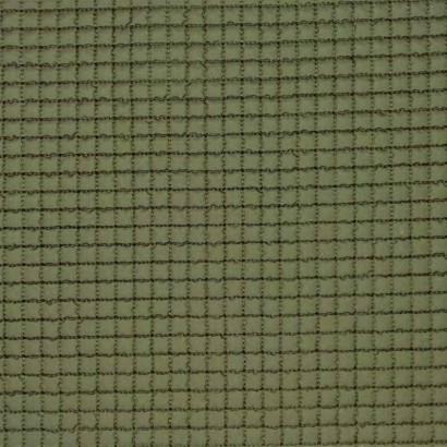 Tela de gofre acolchada verde liso