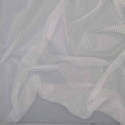 Tela de red blanca arrugada