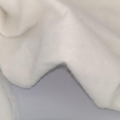 Tela de muleton con algodón arrugada