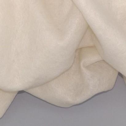 Tela de muletón blanda arrugada