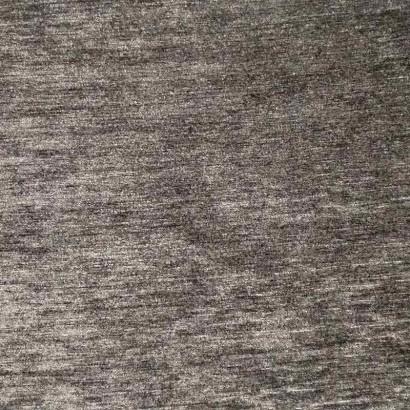 Tela de chenilla gris