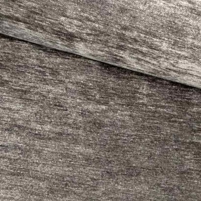 Tela de chenilla gris lomo