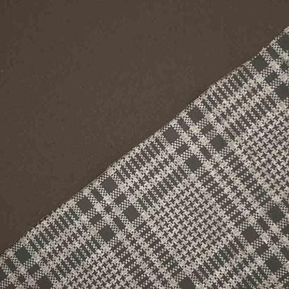 Tela de neopreno reversible gris y negro 2