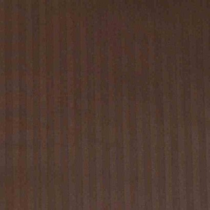 Tela de sábana raya marrón