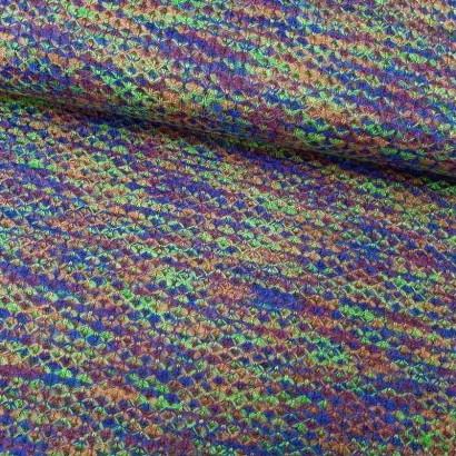 Tela de punto colorines lomo