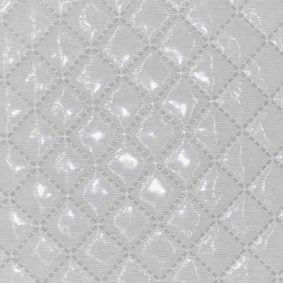 Tela de piqué plastificado blanco