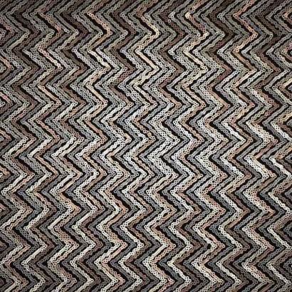 Tela de lentejuela zigzag