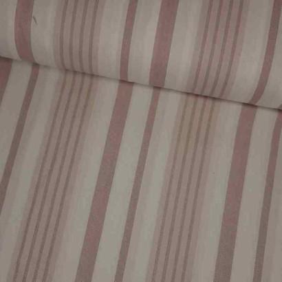 Tela de sábana raya gruesa rosa lomo
