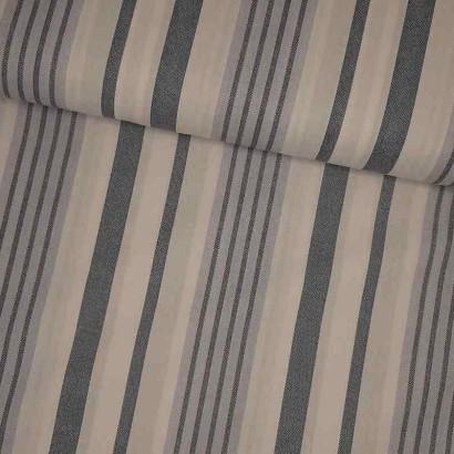 Tela de sábana raya gruesa azul lomo
