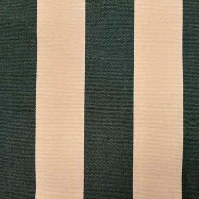 Tela de toldo rayas verde