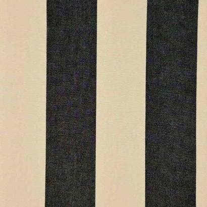 Tela de toldo rayas negro