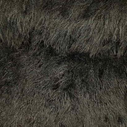 Tela de pelo dacha negra lomo