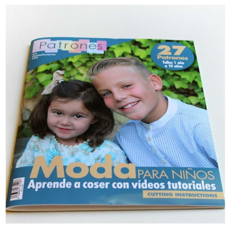Revista de patrones infantiles Nº 3 - A