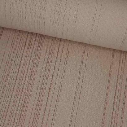 Tela de loneta rayas desiguales crudas lomo