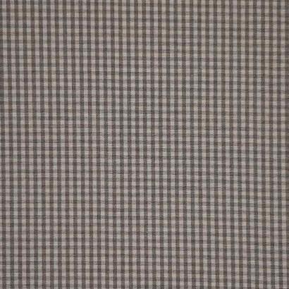 Tela de loneta vichy cuadro pequeño gris