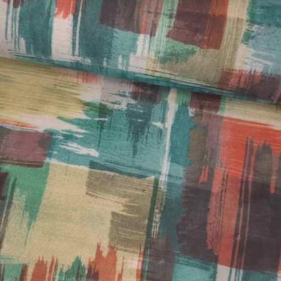 Tela de loneta resinada colores lomo